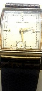 Vintage men's Hamilton Watch YG FILLED CASE
